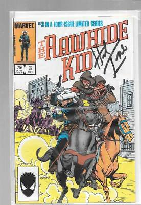 RAWHIDE KID 3 SIGNED HERB TRIMPE Fargo Niles Mayberry Jeff Packard Night Riders