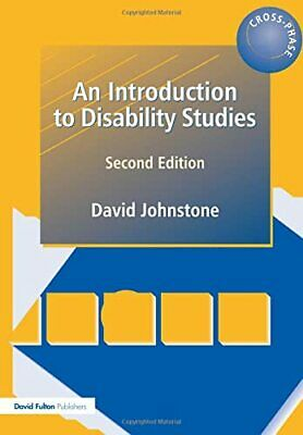 An Introduction to Disability Studies by Johnstone, David Paperback Book The