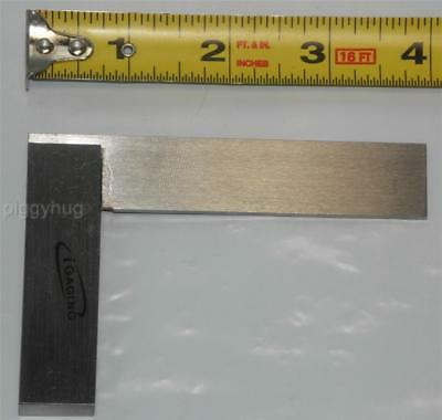 """iGaging precision engineer / machinist square 4"""" right angle new"""