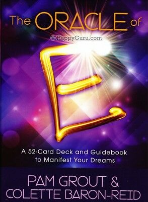 """""""The Oracle Of E: Manifest Your Dreams"""" Pam Grout & Colette Baron-Reid (Oracle)"""