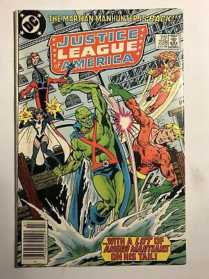 Justice League of America #228. 1984 DC Comic