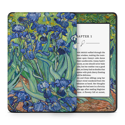 Skin Sticker to Cover, Protect & Personalise Kindle eReader - Van Gogh Irises