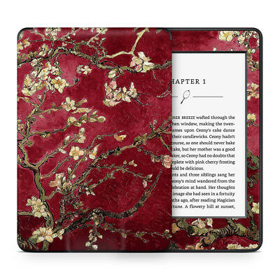 Van Gogh Red Almond Blossoms Vinyl Skin Sticker Wrap to Cover & Protect Kindle