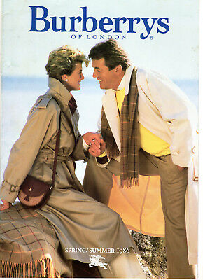 Burberrys of London Spring-Summer 1986 Catalog Coats burberry's 80s Fashion