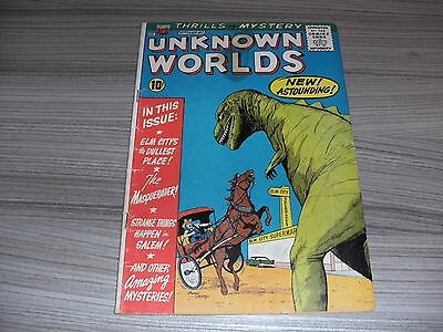 Unknown Worlds #2. Very Good (4.0). American Comics Group. Acg. September 1960.