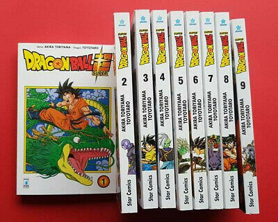 Dragon Ball- Super- Completa- N°1/5- Di:akira Toriyama- Manga Star Comics-
