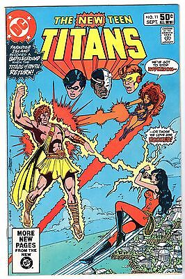 New Teen Titans #11, Very Fine - Near Mint Condition