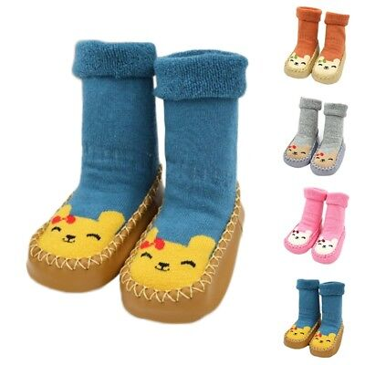 Baby Socks Lovely Toddler Infant Slipper Socks Boys Girls Non-skid Floor Socks