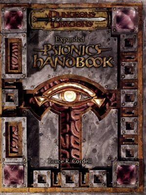 Expanded Psionics Handbook (Dungeons & Dragons d20 3.5 Fantasy Roleplaying Su…