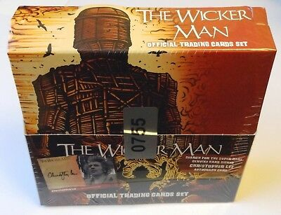 The Wicker Man Cult 1973 Horror Movie Sealed Box of Autograph Trading Cards