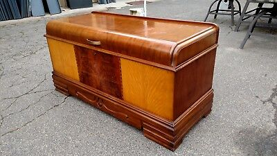 """VINTAGE ROOS CEDAR CHEST """"Sweatheart"""" waterfall storage tray We Deliver Nor Ca"""