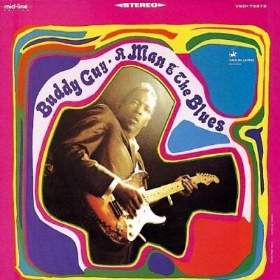 A Man and the Blues Buddy Guy Audio CD