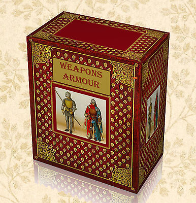 225 Rare Armour & Weapons Books on DVD - Medieval Swords Antique Guns Pistols F8