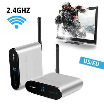 AV220 2.4GHZ Wireless Audio video SD TV AV Sender Transmitter&Receiver 660 feet
