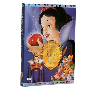 Snow White and the Seven Dwarfs (DVD, 2001, 2-Disc Set, Special Edition) Sealed