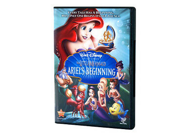 The Little Mermaid - Ariel's Beginning (DVD, 2008) Disney New Sealed RARE