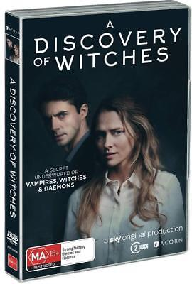 A DISCOVERY OF WITCHES 1 (2018): Adaptation TV Season Series - NEW Au Rg4 DVD