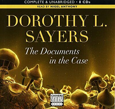 THE DOCUMENTS IN THE CASE AUDIO BOOK CDS by DOROTHY L. SAYERS Book The Cheap