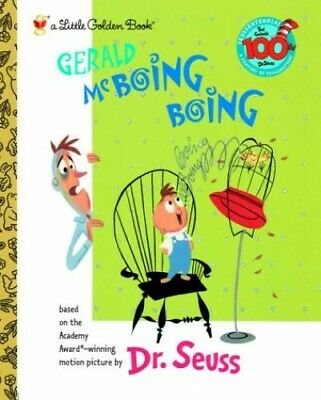 Gerald McBoing Boing (Little Golden Book) by Dr Seuss Book The Cheap Fast Free