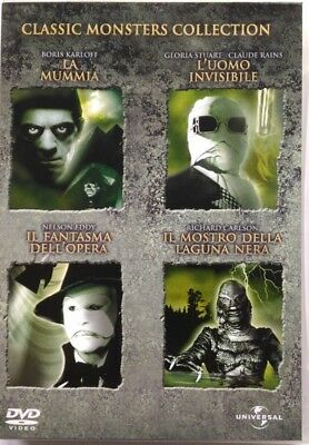 Dvd Classic Monsters Collection - Schatulle box 4 CDs Gebrauchte