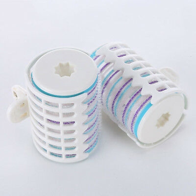 2PCS Hair Curlers Rollers DIY Hair Salon Soft Large Hairdressing Tools Plastic