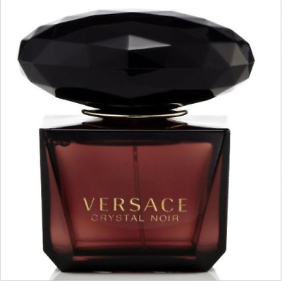 3.0 oz women edp NEW tester with cap VERSACE CRYSTAL NOIR Perfume