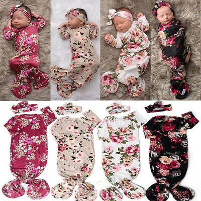 Newborn Infant Baby Boy Girl Printing Swaddle Blanket Muslin Cotton Clothes 0-6M