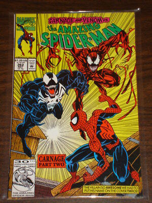 Amazing Spiderman #362 Vol1 Marvel Comics Spidey Nm May 1992