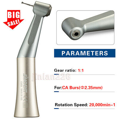 Fit KAVO Dental E-generator LED Handpiece Slow Low Speed Push Contra Angle USA