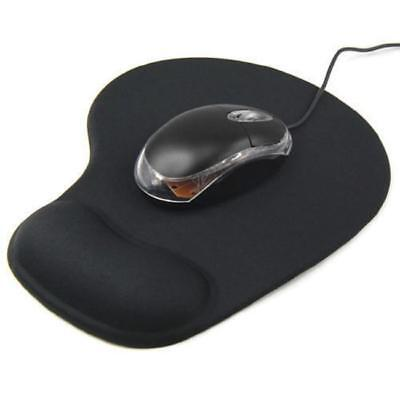 Anti-Slip Gel Mouse Mat Pad With Rest Wrist Comfort Support For Laptop PC FA