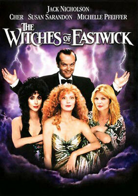 The Witches of Eastwick DVD NEW