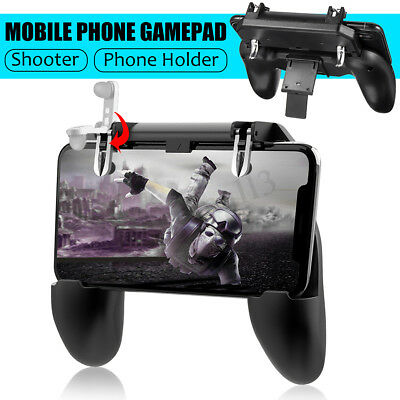 For PUBG Controller Mobile Phone Game Shooter Trigger Fire Gaming Button + Pad