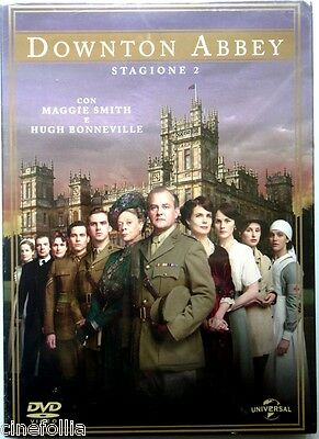 Dvd Downton Abbey - Saison 2 Schatulle Schuber 4 CDs Neu Redaktion