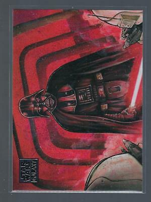 2018 Star Wars Galaxy  #16  DARTH VADERS WRATH