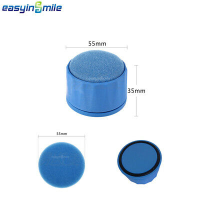 1Pc Easyinsmile Dental  Autoclavable Endo Round Stand File Holder 55*35mm Blue