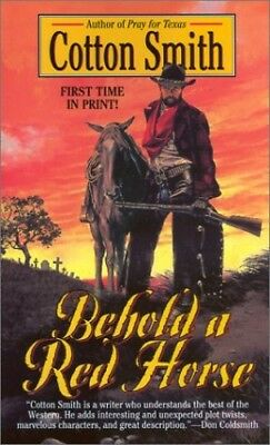 Behold a Red Horse by Smith, Cotton Book The Cheap Fast Free Post