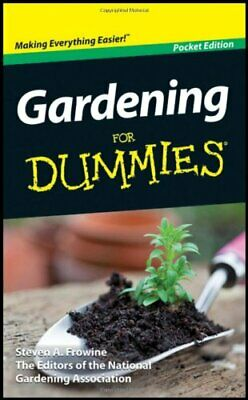 Gardening for Dummies by National Gardening Association Book The Cheap Fast Free