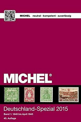 MICHEL-Katalog Deutschland-Spezial 2015, Band 1: in Farbe Book The Cheap Fast