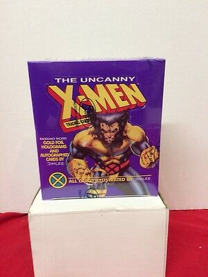Uncanny X-Men Trading cards box Factory Sealed Marvel Jim Lee Impel 1992