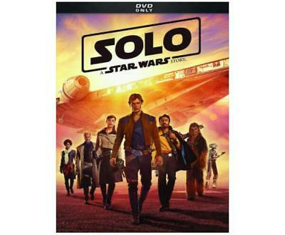 Solo A Star Wars Story 2018 DVD Movie New Sealed  US Seller Woody Harrelson