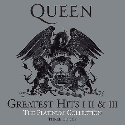 Platinum Collection Box Set Classic Songs Hits 2011 Remaster By Queen Band 3 CDs