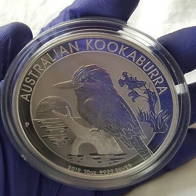2019 10oz Kookaburra - Perth Mint - BU in Cap -  .9999 fine Silver