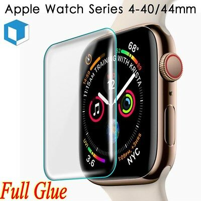 Apple Watch iWatch Series 1 2 3 4 3D Full Cover Tempered Glass Screen Protector