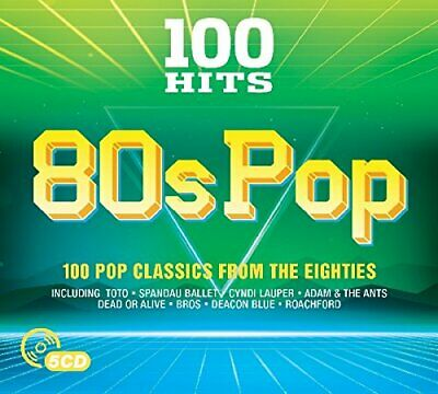 Various Artists - 100 Hits - 80s Pop - Various Artists CD TDLN The Cheap Fast