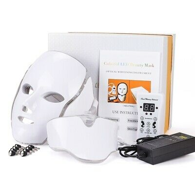 PDT LED Light Photodynamic Skin Care Rejuvenation Photon Facial Body Therapy New