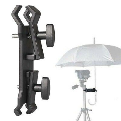 Photography Camera Lighting Umbrella Holder Clamp Clip for Tripod Light Stand BX
