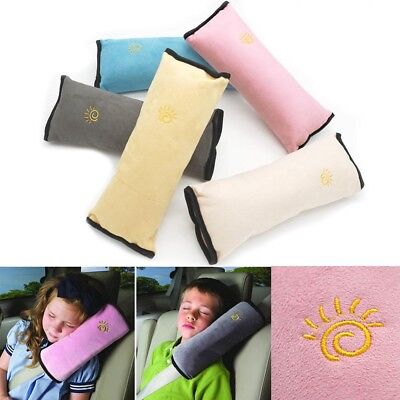 Child Car Safety Seat Belt Pillow Shoulder Strap Pad Cushions Head Support Kids*