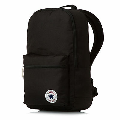 BLACK CONVERSE ALL Star Backpack Rucksack School-bag - £24.99 ... 97dc7957dcf03