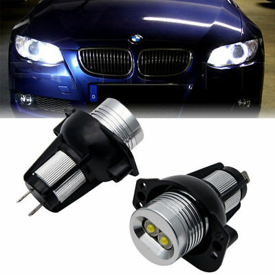 Ampoule LED BMW Série 3 E90 E91 Angel Eyes 6W Blanc Xenon Phare Lampe 2004-2008