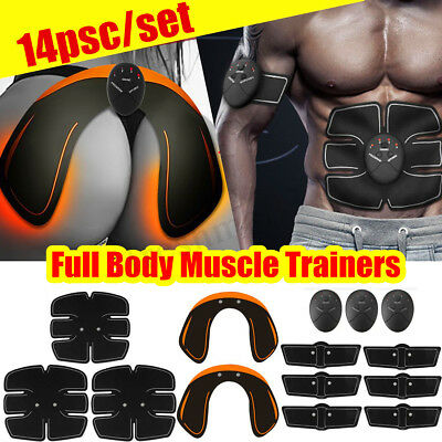 US Abdominal Muscle Trainer Stimulator EMS Hip Buttocks Lifter Training Machine